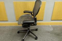 Herman Miller Aeron Office Chairs, Size B, Grey