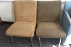 Suede Meeting Chairs
