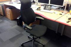 Humanscale Freedom High Back Operator Chairs (black frame and base)