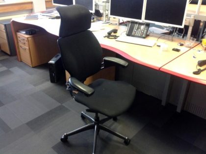 Humanscale Freedom High Back Operator Chairs