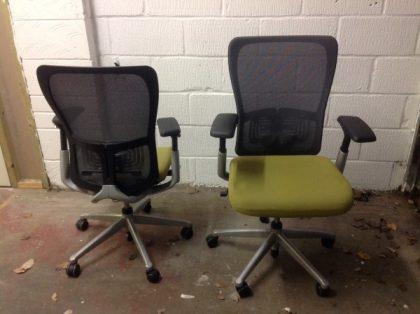Haworth Comforto Zody Mesh Back Chair
