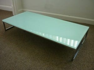 Boss Layla Glass Coffee Table