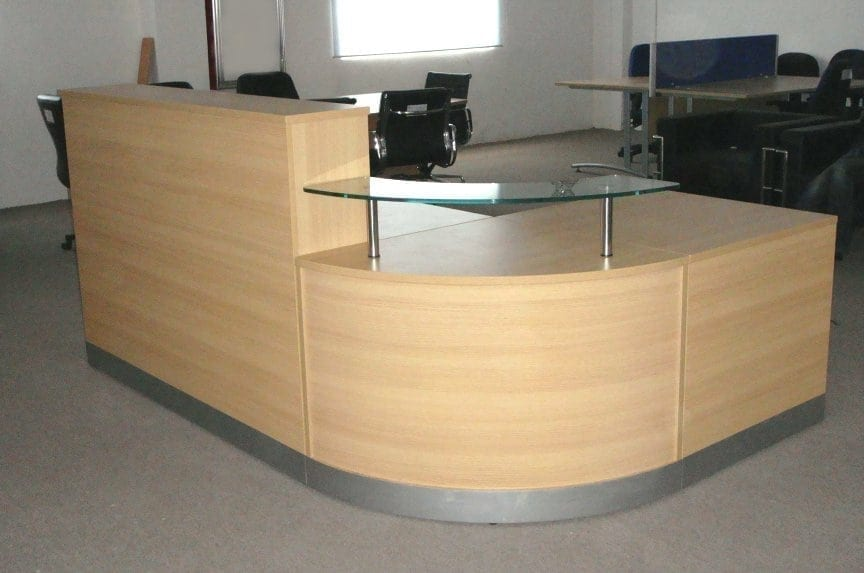 Reception Desk Used Second Hand Office Furniture Suf