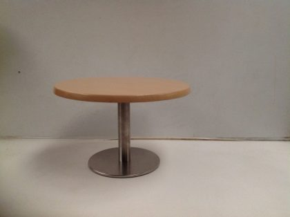 Sven Christiansen Side Table 800mm with Chrome Stand