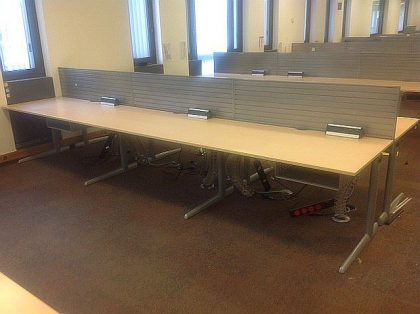 Ahrend Maple Desks