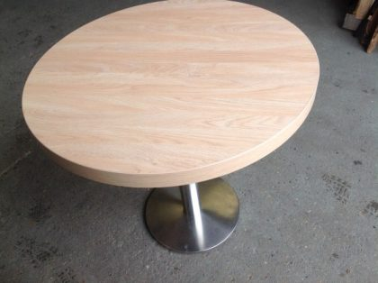 Circular Cafe Style Table
