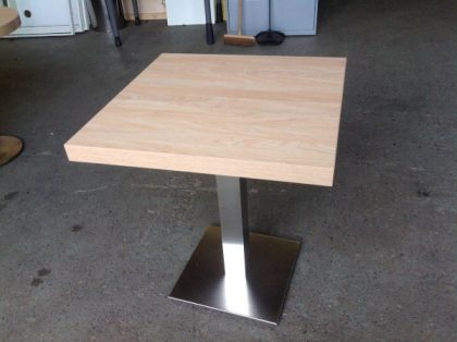 Cafe Style Square Tables