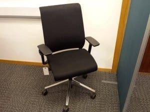Black Steelcase Think Chairs