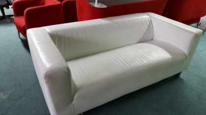 white leather armchairs sale second hand sofas and used armchairs for sale 2nd furniture 21971 | White leather sofa 420x236