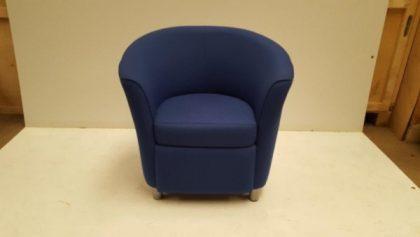 Blue Tub Chairs