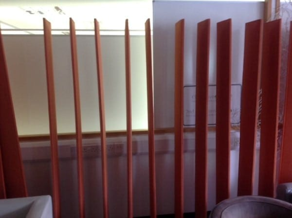 Terracotta Screen System Used Second Hand Office Furniture