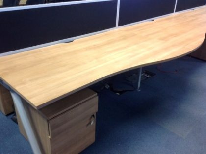 Walnut Bench Desks