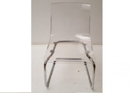 Clear Perspex Office/Breakout Chairs