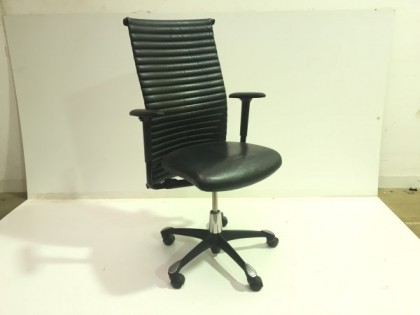 HAG H09 Leather Chairs