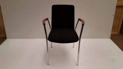 Dark Brown Meeting Chairs