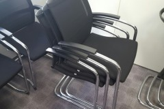 Sedus Mesh Back Stacking Chairs