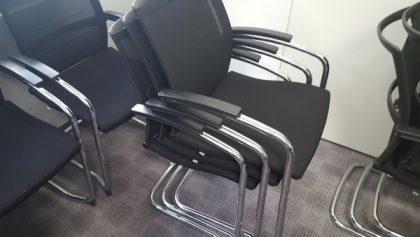 Sedus Mesh Back Stacking Chairs
