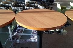 Beech Poseur tables