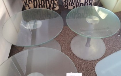 Circular Glass Table Top Second Hand