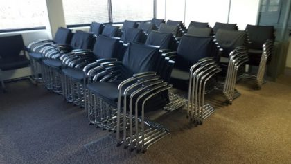 Sedus UP233 Open UP Padded Meeting Chairs