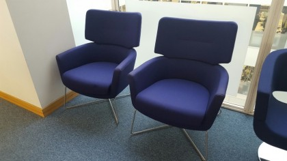 Connection Kala High Back Armchairs