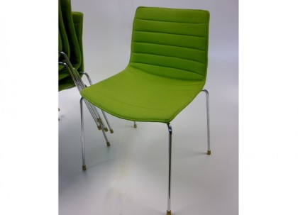 Arper Catifa Chairs Green