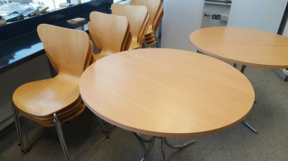 Beech Cafe Tables and Chairs