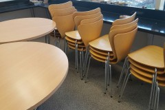 Beech Cafe Tables & Chairs
