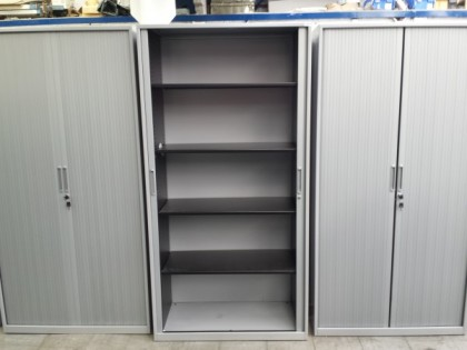 Tall Tambour Door Cupboard