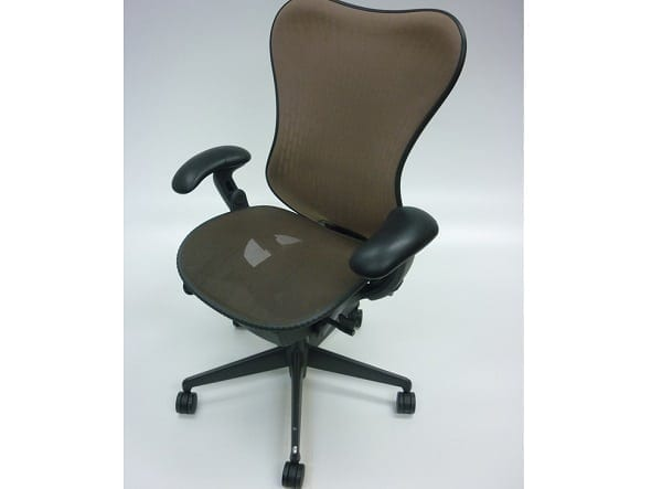 Herman Miller Mirra Chair Cappuccino Mesh Second Furniture