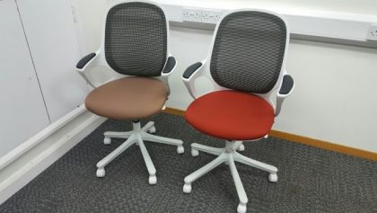 Verco Salt & Pepper Operator Chairs