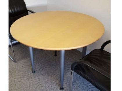 Beech Circular Tables 1100mm