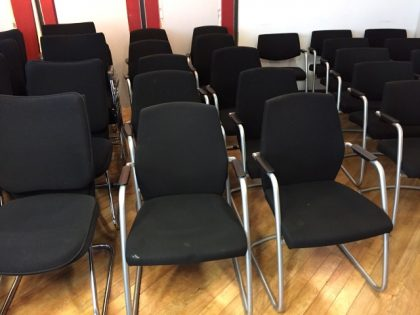 Connection High Back Meeting Chairs