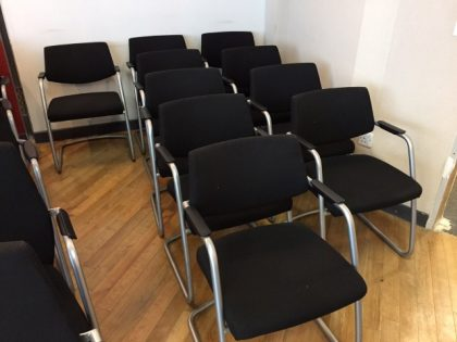 Connection Low Back Meeting Chairs