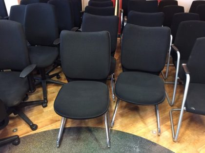Black Meeting/Breakout Chairs