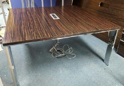 Walnut Meeting Table (1600 x 1600mm)