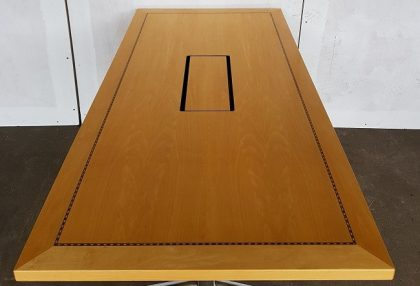Tula Maple Veneer Flip-Top Meeting Tables  1500 x 750mm