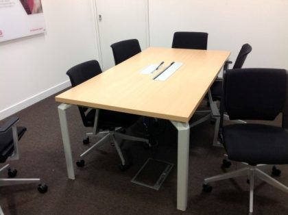 Beech Meeting Table 1800 x 1000mm