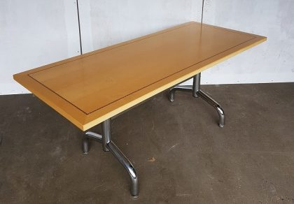 Tula Maple Veneer Flip-Top Meeting Tables 1800 x 750mm