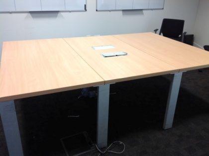 Maple Boardroom Table 2400 x 1600mm