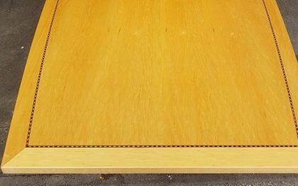 Tula Boat-Shaped Maple Veneer Boardroom Tables 2800 x 1200mm