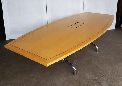 Tula Boat Shaped Boardroom Tables