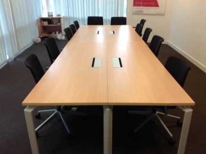 Maple Boardroom Table 4200 x 1400mm