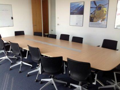 Maple Boardroom Table 4500 x 1550mm