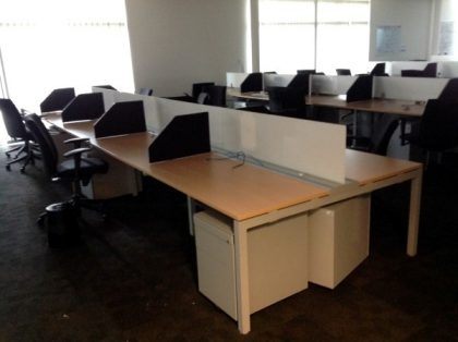 Haworth Bench Desks
