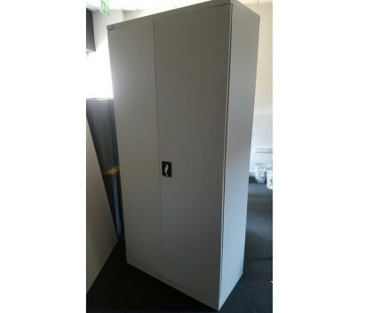 Silverline Tall Metal Cabinets