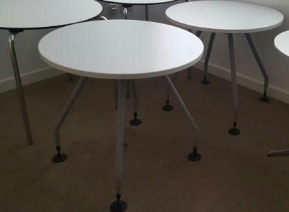Vitra 800mm White Tables