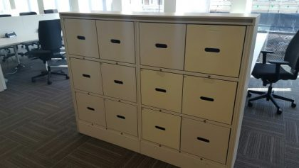 Metal Drawer Locker Units