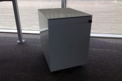 3-Drawer Metal Pedestals