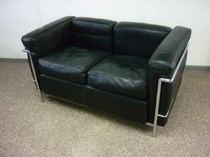 Le Corbusier Style 2 Seater Sofa & Armchair